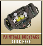 Paintball body bags gearbag