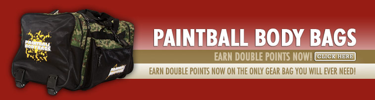 Paintball Body Bags - Earn Double Points Now!