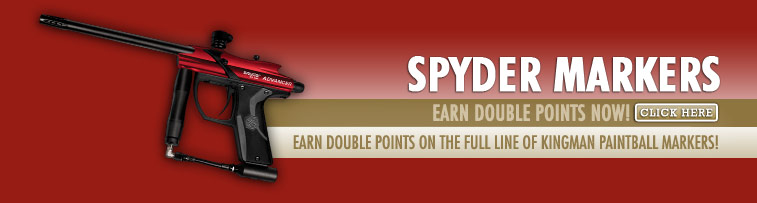 Spider Markers - Earn Double Points Now!